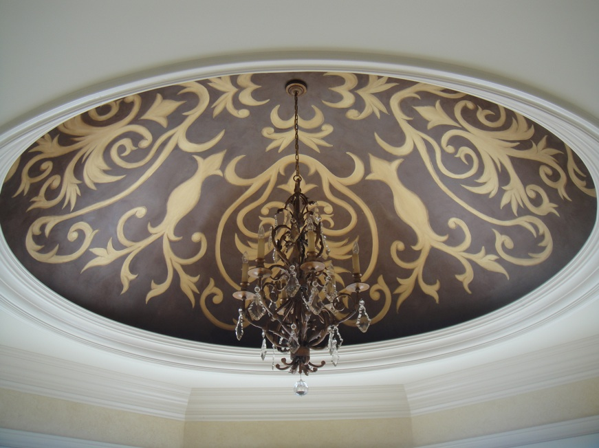 Decorative Ceiling Mural Painting And Scenic Design Wall Murals By Tlc Artists