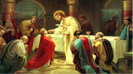 Image result for traditional communion on the tongue