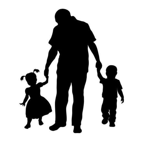 African American Father Daughter Dance Clip Art