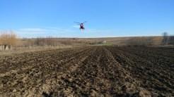 Elicopterul SMURD a intervenit la solicitare. FOTO ISU Delta
