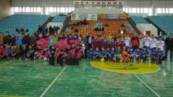 Cupa Hagi la fotbal. FOTO Consiliul Județean Tulcea