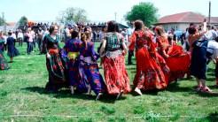 Festivalul Bujorului din comuna Valea Nucarilor. FOTO Tlnews.ro