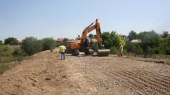 Lucrări de asfaltare în comuna Carcaliu. FOTO Tlnews.ro
