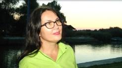Corina Davidov, purtător de cuvânt al Asociației Delta Dunării. FOTO Adrian Boioglu