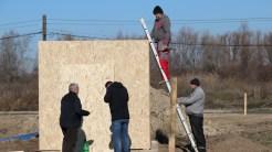 Primăria Nufăru construiește un dispensar. FOTO Adrian Boioglu
