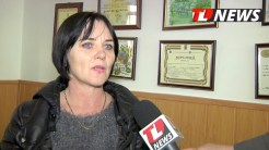 Nicoleta Anghel, directorul școlii gimanziale Casimcea.