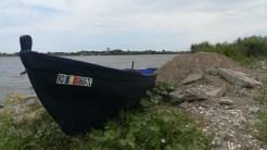 Barca de pescuit în Murighiol. FOTO Paul Alexe