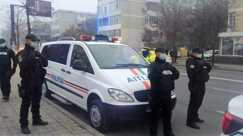 Polițiștii tulceni la datorie în perioada minivacanței de Revelion. FOTO arhiva IPJ Tulcea