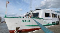 Nava de croazieră Diana. FOTO Paul Alexe