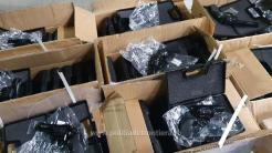 Pistoale găsite în PTF Isacces. FOTO Poliția de Frontieră.