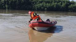 Autoritățile caută două fete dispărute în Dunăre. FOTO ISU Tulcea