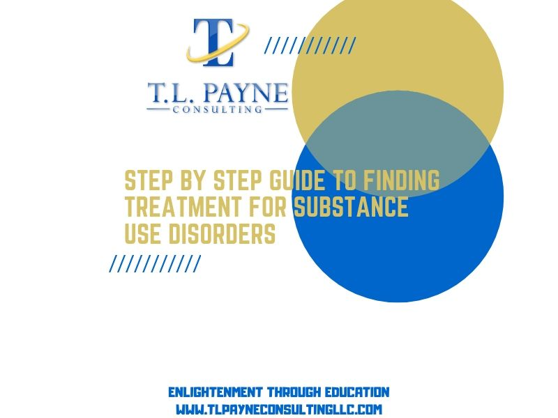 Step by Step Guide to Finding Treatment for Substance Use Disorders