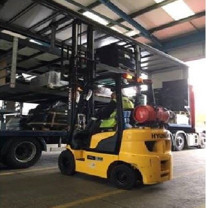Hystackers forklift