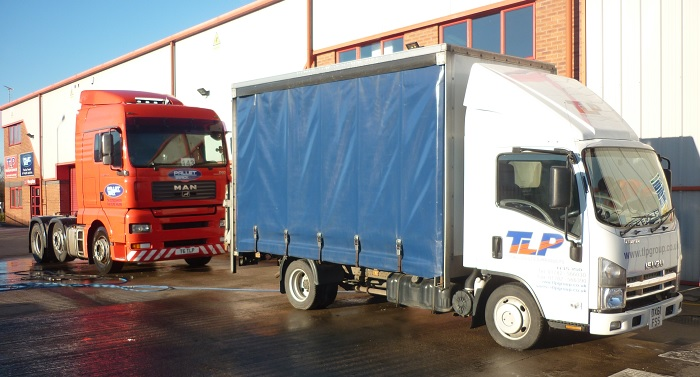 TLP Small 3.5 Delivery Truck