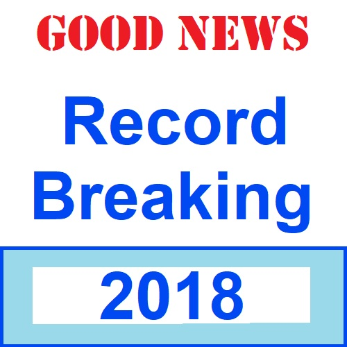 Record Breaking 2018