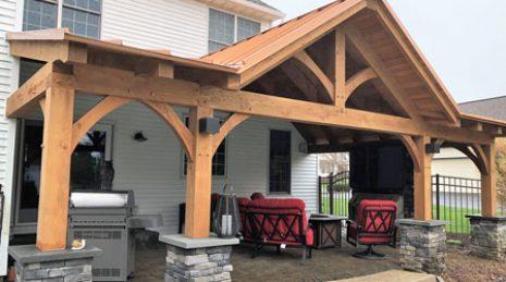 custom porch builders porch roof
