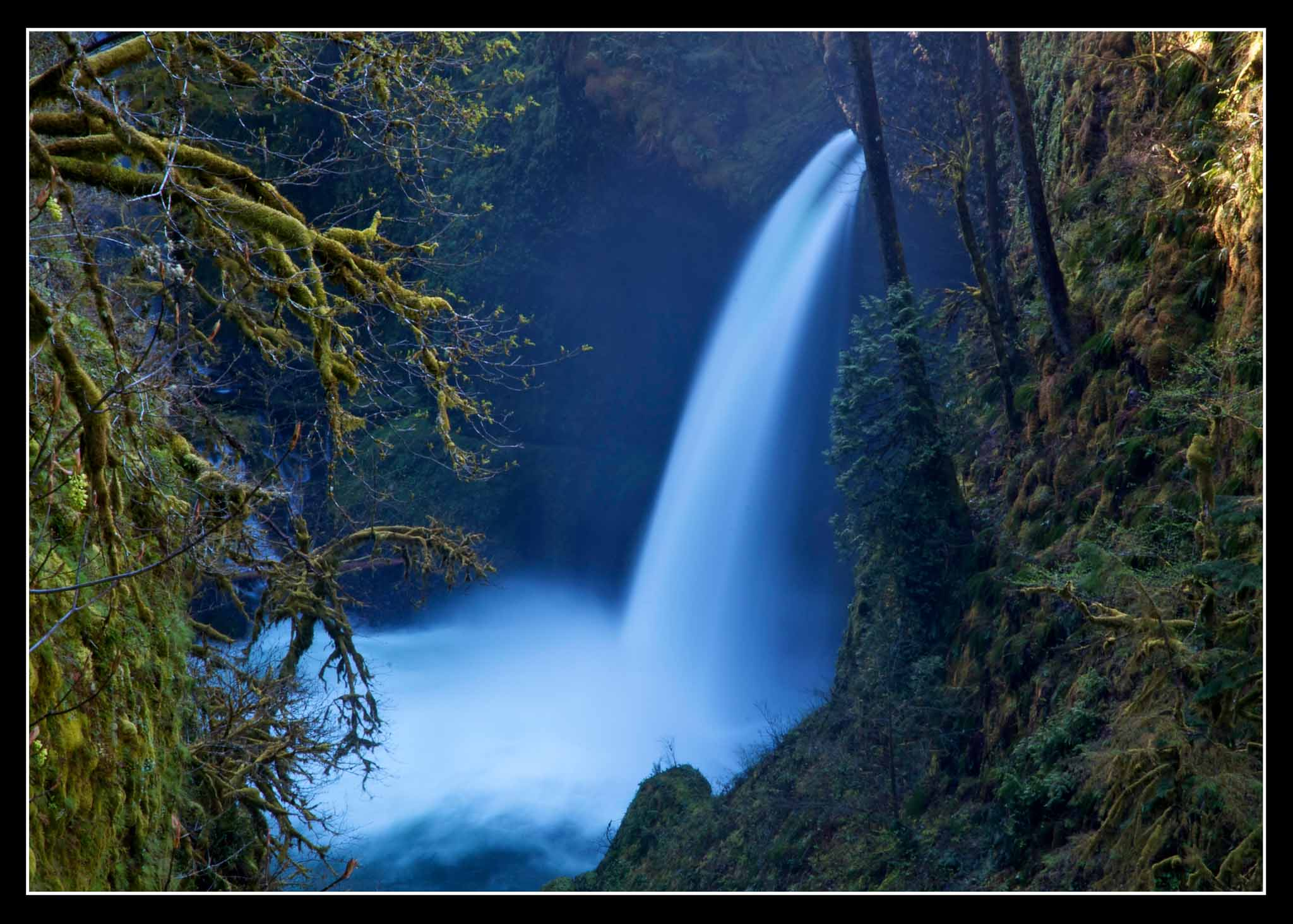 Metlako Falls in Eagle Creek.