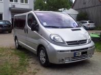 Opel-Vivaro aufbereitet durch Fahrzeugpflege Massler