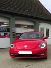 VW Beetle mit Ceramic-Versiegelung