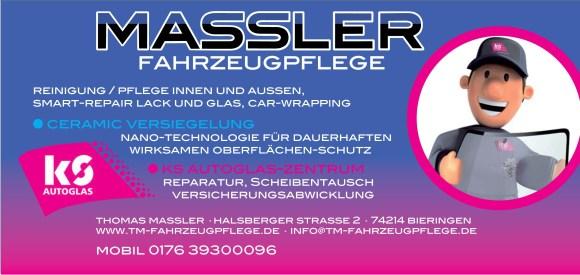 Fahrzeugpflege Massler & KS-Autoglas-Zentrum Schöntal-Bieringen