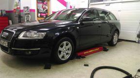 AUDI A6 von Fahrzeugpflege Massler aufbereitet