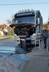 Austausch Scheibe LKW von KS-Autoglas-Zentrum Schöntal-Bieringen
