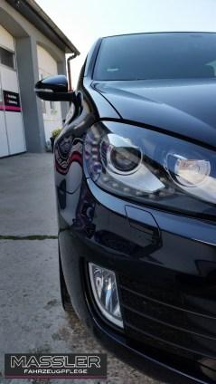 VW Golf VI GTD aufpoliert und mit einer Schicht servFaces Suave versiegelt - Fahrzeugpflege Masller