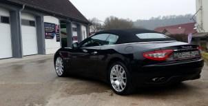 Maserati Grand Cabrio - aufbereitet von TM-Fahrzeugpflege
