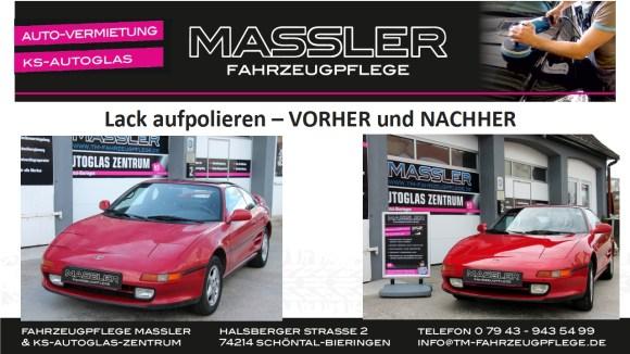 Toyota MR2 aufpoliert - VORHER und NACHHER - TM-Fahrzeugpflege
