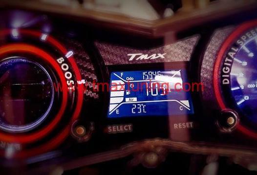 Tachimetro digitale t max 530