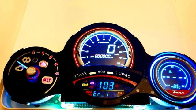 Display digitale T Max 2008/2011