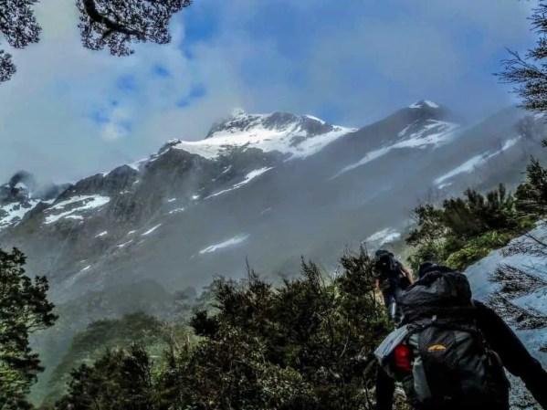 Climbing Mackinnon Pass