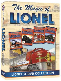 Magic Of Lionel 4 DVD Boxed Set Wwwtmbvcom