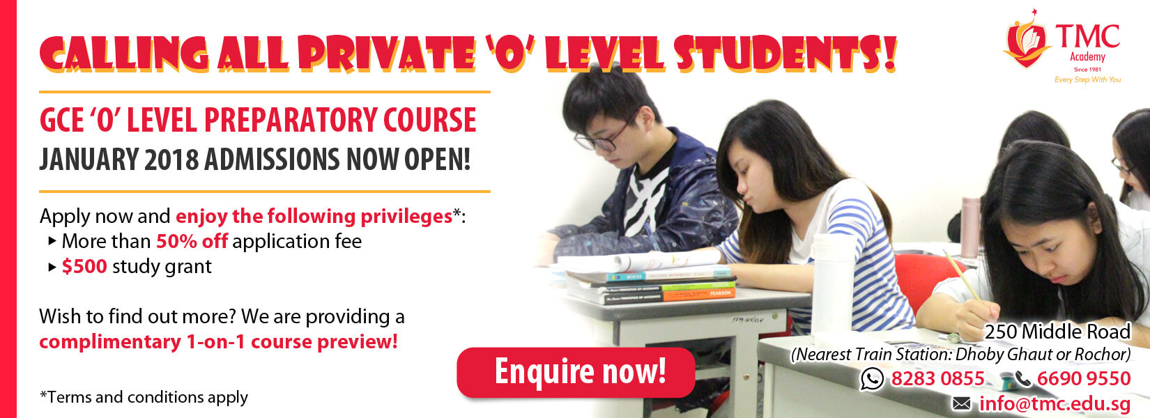 GCE 'O' Level Course Preview Banner