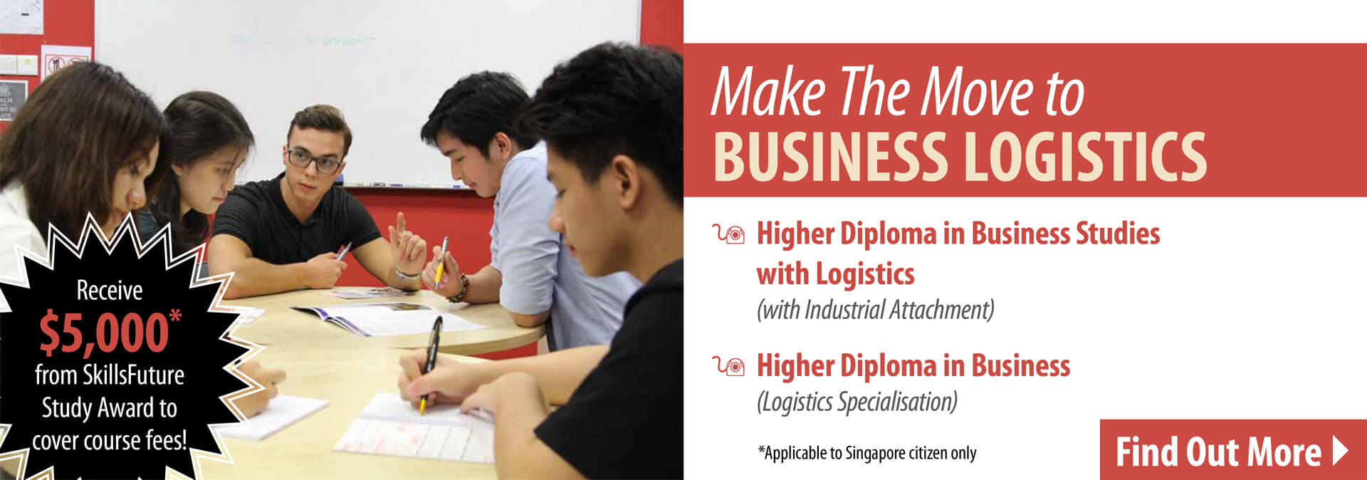 TMC Academy SkillsFuture Credit for Higher Diploma in Business