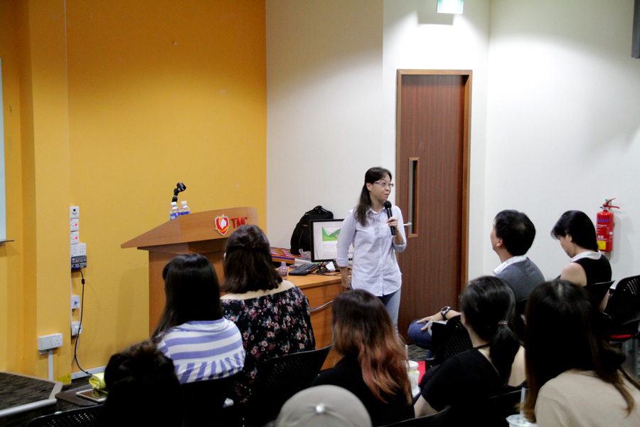 Julia Lam On Her Topic 50 Shades of Sexual Offences @ SPS Psychology Week
