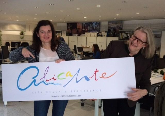 Raquel Hernandez (Alicante CVB) and Johanna Fischer (tmf dialogue marketing)