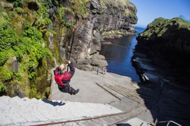 Marjun ziplining