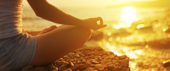 Meditation via Getty Images © The Huffington Post
