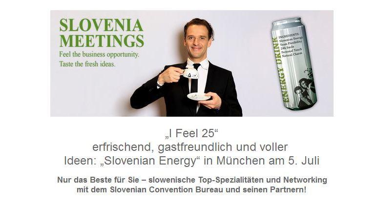 """Einladung: """"Slovenian Energy"""" in München am 5. Juli"""