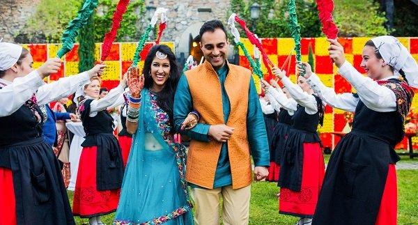 Pomegranate Event Decor India: 4-day destination wedding in Bilbao, Spain ©EVENTFAQS Media India