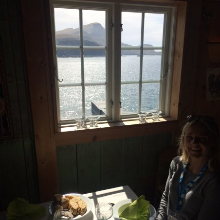 Lunch with a view at Anna Sophie in Bøur ©tmf dialogue marketing