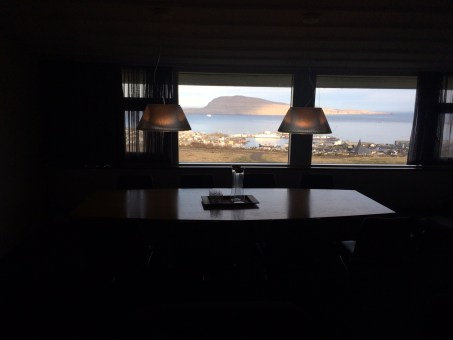 View from the Clinton Suite in Hotel Føroyar © tmf dialogue marketing