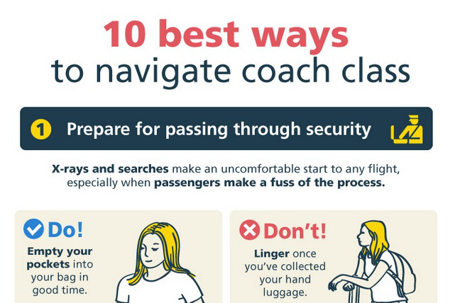 10 Etiquette rules for flying economy class @ Expedia
