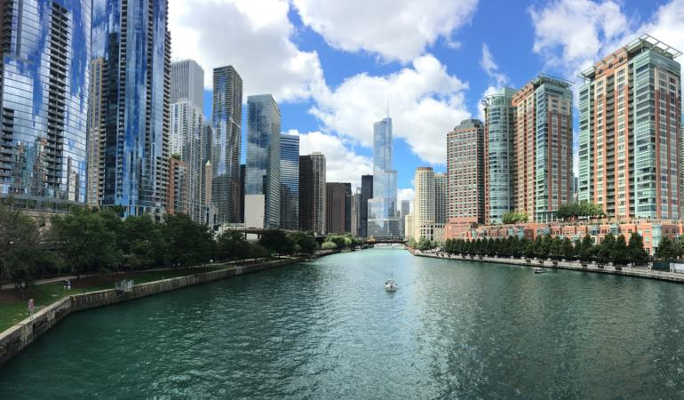 City of Chicago; picture copyright free (Pexels)