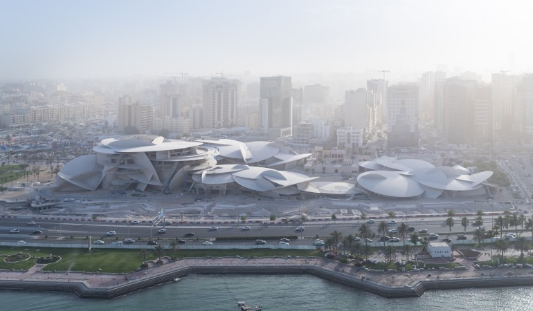 National Museum of Qatar copyright Iwan Baan @courtesy QNTC