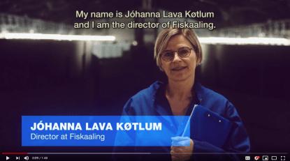 Johanna Lava Kotlum - ambassador for VisitFaroeIslandsMeetings