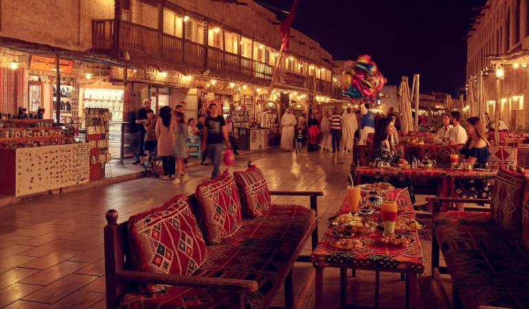 Souq Waqif, courtesy @QNTC
