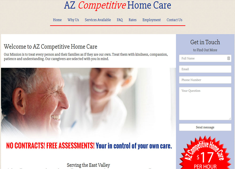 AZ Competitive Home Care