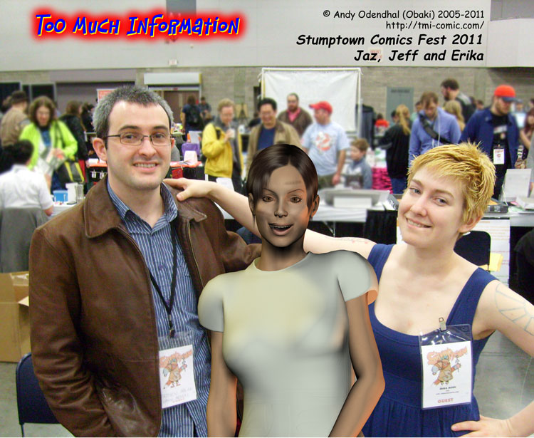 Stumptown Comics Fest Jaz Jeff And Erika